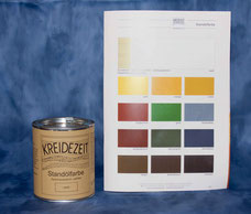 farbiger Holzanstrich für innen und außen - Kreidezeit Produkte bei WOHNGUT