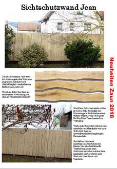 Woodline Sichtschutzwand Jean
