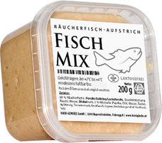 Brot-Aufstriche aus geräucherten Fisch-Filets