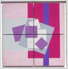 abstraction, géometrie, carrés, lignes,