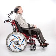 Rollstuhl Vario Plus mit Dynamico