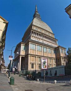 Mole Antonelliana, turin, musée national du cinéma, italie