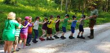 """Waldtag """"Sommer"""" - 1. Klasse"""