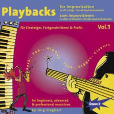 Jamtracks for lead-instruments Vol.1 - in all 12 keys