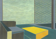 """Aurelia Gratzer, """"Rest"""", Acryl auf Karton, 21x30cm, gerahmt, 2011"""