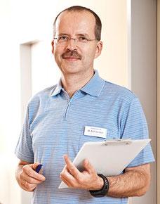 Dr. med: Ralf Warmuth vom Zentrum für Schlafmedizin, Berlin