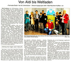 WZ 26.02.2015, Fairtrade Stadt Bad Nauheim, Text + Foto: Corinna Weigelt