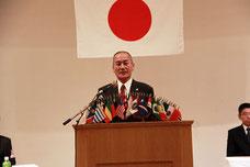 開会の言葉 第1副会長 L岩瀬 朗