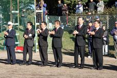 学童野球太田西ライオンズ杯開会式