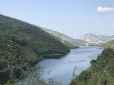Neretva Fluss in Bosnien-Herzegowina