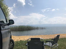 Ochrid See in Mazedonien