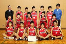 2013OTA JUNIOR CUPバスケットボール大会