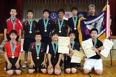 第68回東毛地区中学校競技大会・バドミントン