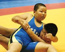 5年55キロ級・準優勝の中里優斗