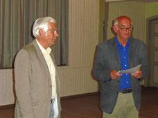 Jürgen Dahms und Bodo Neumann