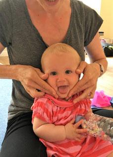 Hannah & Shila in Learn, Stretch & Play