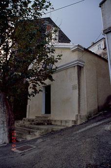 Cervione chap St Roch et St Jean Baptiste- cl.MH