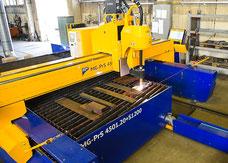 CNC Plasmaschneidanlage Brennteile Lohnzuschnitt Fertigung