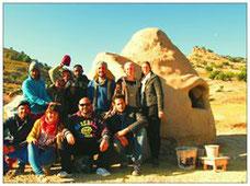 Dôme Superadobe Earthbag Maroc