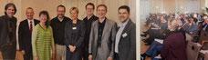 Stefan Rieker, Wilfried Theißen, Staatssekretärin Andrea Milz, Patrik Maas, Katahrina Benner, Dr. Stefan Sandbrink, Jörg Brökel, Prof. Dr. Michael Vilain (v.li.) | Foto © Der Paritätische NRW