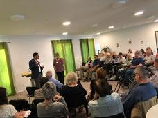 Prof. Dr. Vilain auf dem Jahresempfang des Seniorenrates Offenbach