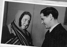 Rainer Litten und Therese Giehse