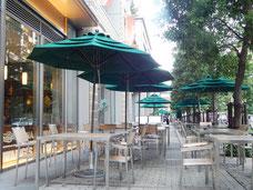 大崎ブライトコアのカフェ通り