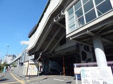 京急本線・新馬場駅