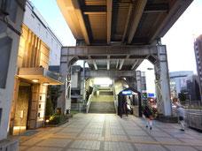 京急本線 新馬場駅
