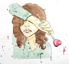 Liebesroman Ava Lundin Illustration