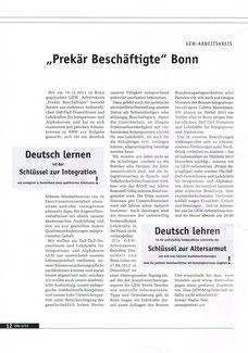 Artikel im GEW-Info Juni 2013