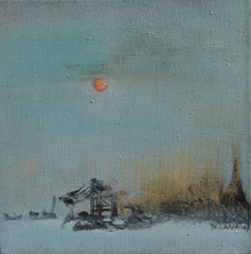 早晨 MORNING 25X25CM 布面油画 OIL ON CANVAS 2007