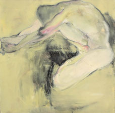 男性 A MAN 80X80CM 布面油画 OIL ON CANVAS 2006 (收藏于塞浦路斯 COLLECTED IN CYPRUS)