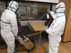 集合住宅の環境管理サービス/室内殺菌消毒