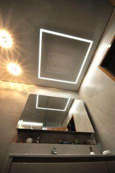 Bild mit CILING LED-Lichtkanal Band in Lackspanndecke