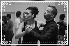 les professeurs de tango