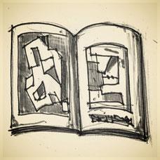 Andre Bauersfeld Skizzen-Buch