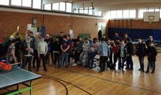 Stadtmeisterschaft Kölner Förderschulen Tischtennis