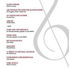 Konzertprogramm 2018