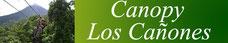 Canopy Tour Los Cañones:  Ubicación, Horarios, Precios, ofertas, Teléfono 2479 9769