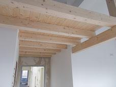 Wohnraumsanierung Decke, Boden und Wand
