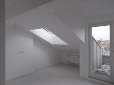 Dachgeschossausbau innen, Dachgeschoss, Ausbau