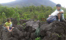 Hike at Arenal Volcano National Park