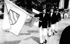 1961, Hermann Ahlers, Willi Hertz und Wilfried Holzknecht