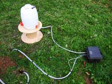 dispositivo para medir o fluxo de agua no solo