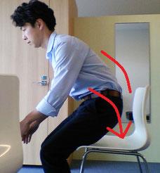 座ろうとすると腰が痛い原因