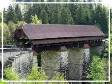 Alte Brücke in Rothenburg