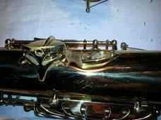 Acoustique & Mécaniques - réparation saxophone - chute de l'instrument