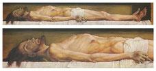 Hans Holbein le Jeune – Le Christ au Tombeau (1521)