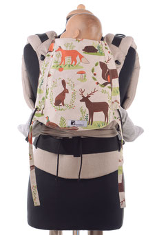 Ergonomic baby carriers by Huckepack
